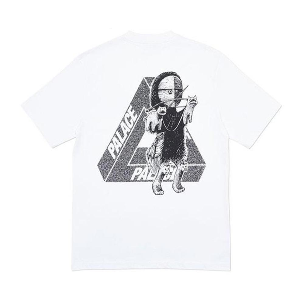 Palace U Figure T-Shirt White