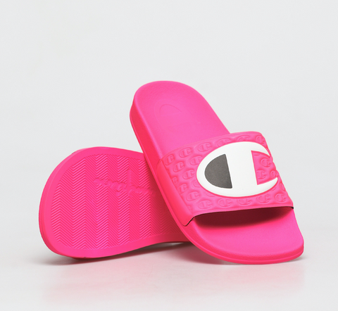 Champion Slides M-Evo Neon Pink/Black