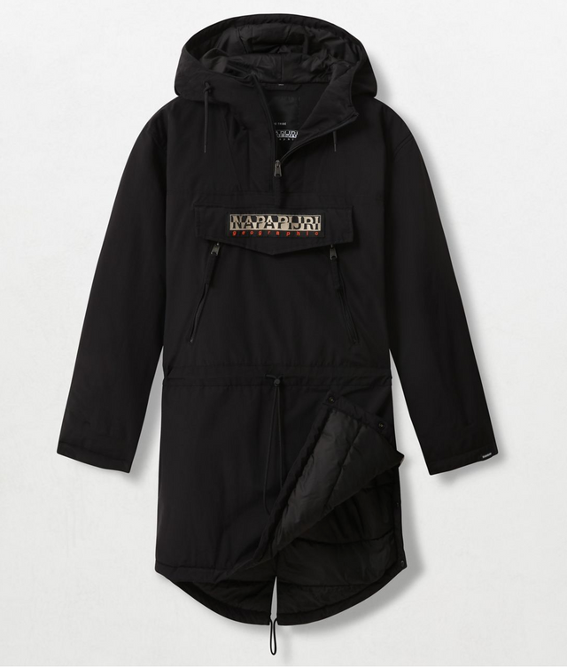 Napapijri Tribe Rainforest Long Jacket Black