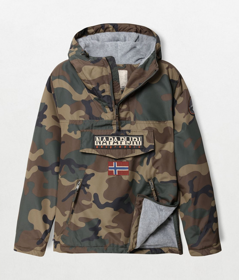 Napapijri Tribe Rainforest Winter Pocket Jacket Camouflage