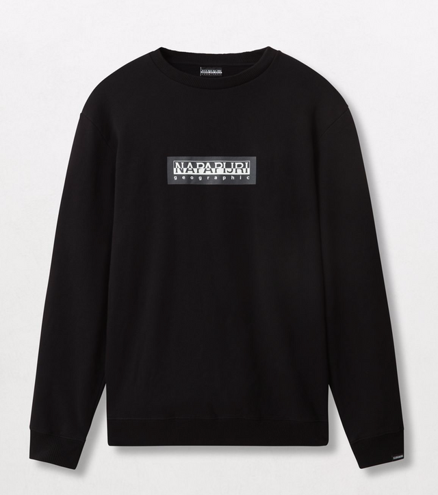 Napapijri Tribe Box C Sweatshirt Black