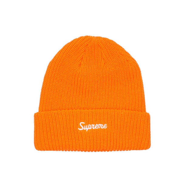 Supreme Loose Gauge Beanie Bright Orange