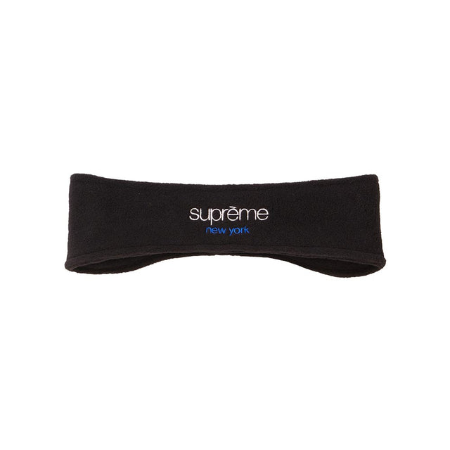 Supreme Polartec Headband Black