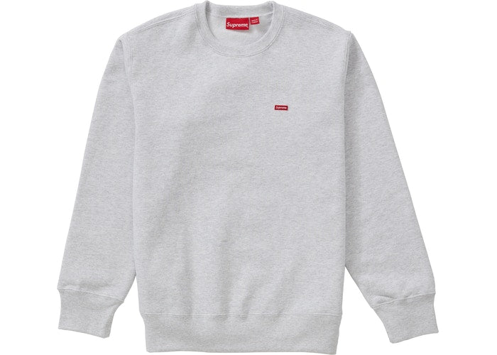 Supreme Small Box Crewneck Ash Grey