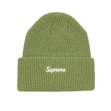 Supreme Loose Gauge Beanie Green