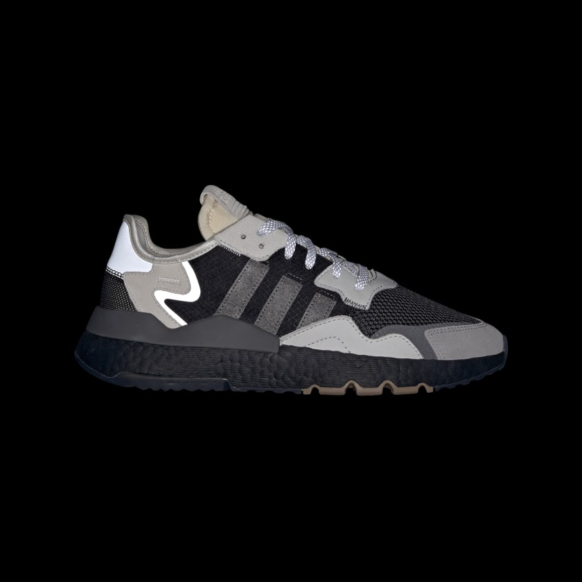 adidas Originals Nite Jogger Sneakers BD7933 Core Black / Carbon / Cloud White