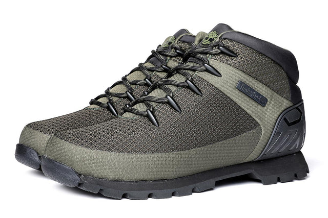 Timberland Men's Euro Sprint Waterproof Boots Olive Green