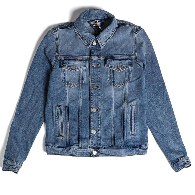 Tommy Jeans Back Logo Americana Trucker Jacket