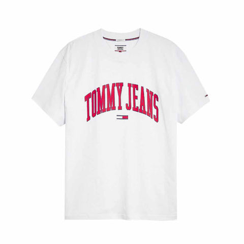 Tommy Jeans Collegiate Logo T-shirt White DM0DM05569