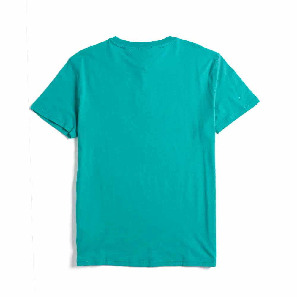 Tommy Jeans Circle Logo Organic Cotton T-shirt Dynasty Green DM0DM06081