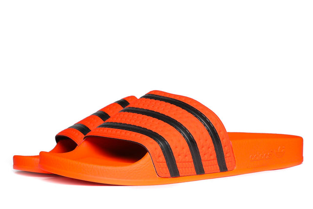 adidas Originals Adilette Slides Active Orange / Core Black  CM8442