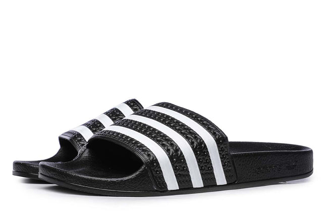 adidas Originals Adilette Slides Core Black / White  280647