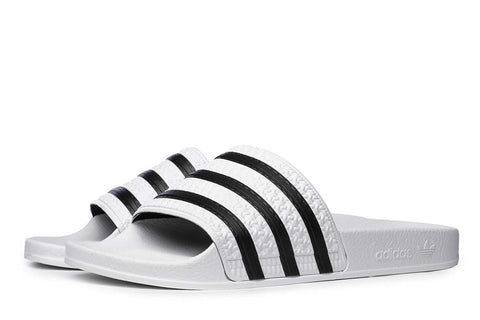 adidas Originals Adilette Slides White / Black 280648