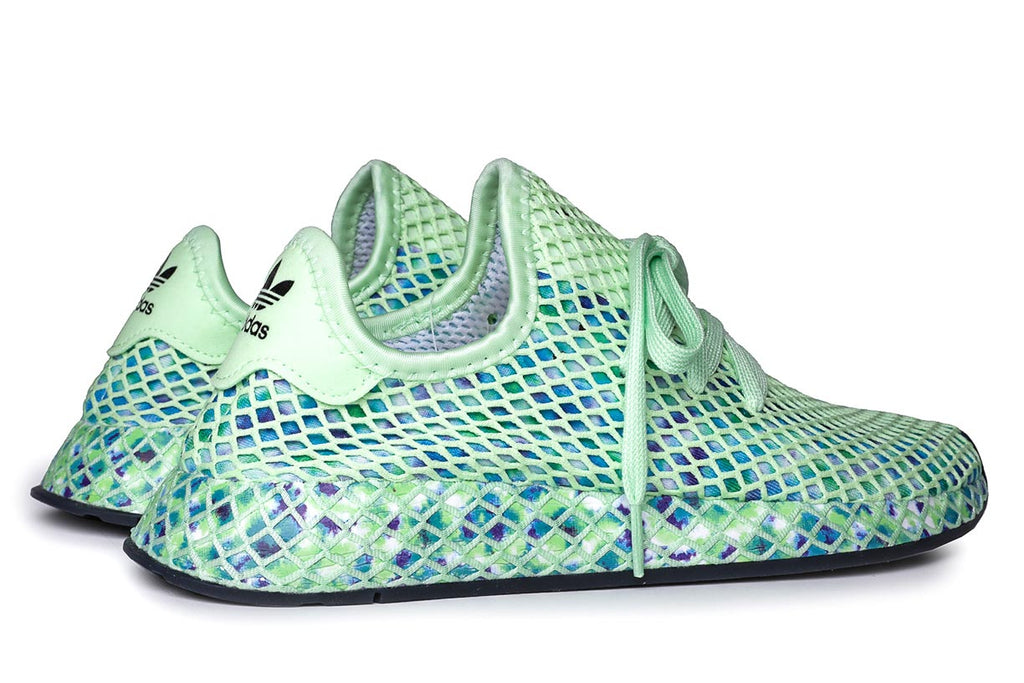 adidas Originals Deerupt Runner Sneakers Green EE5772