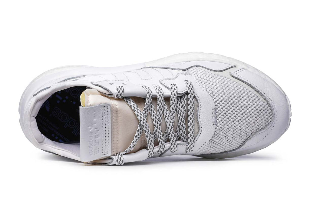 adidas Originals Nite Jogger Sneakers BD7676 Crystal White / Grey One