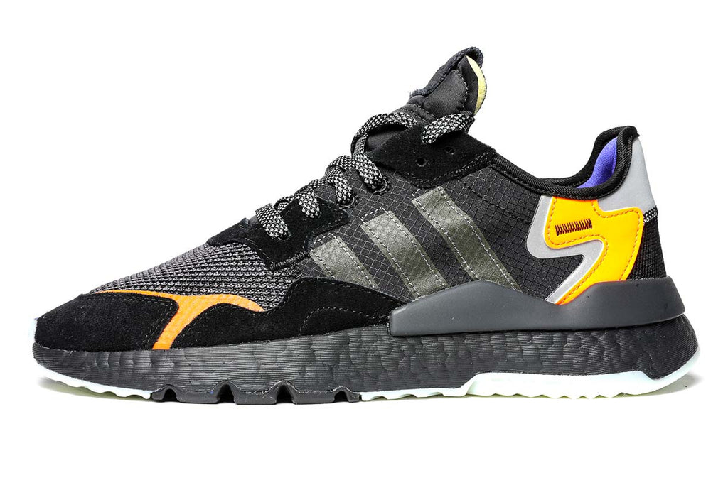 adidas Originals Nite Jogger Sneakers CG7088 Core Black / Carbon / Active Blue