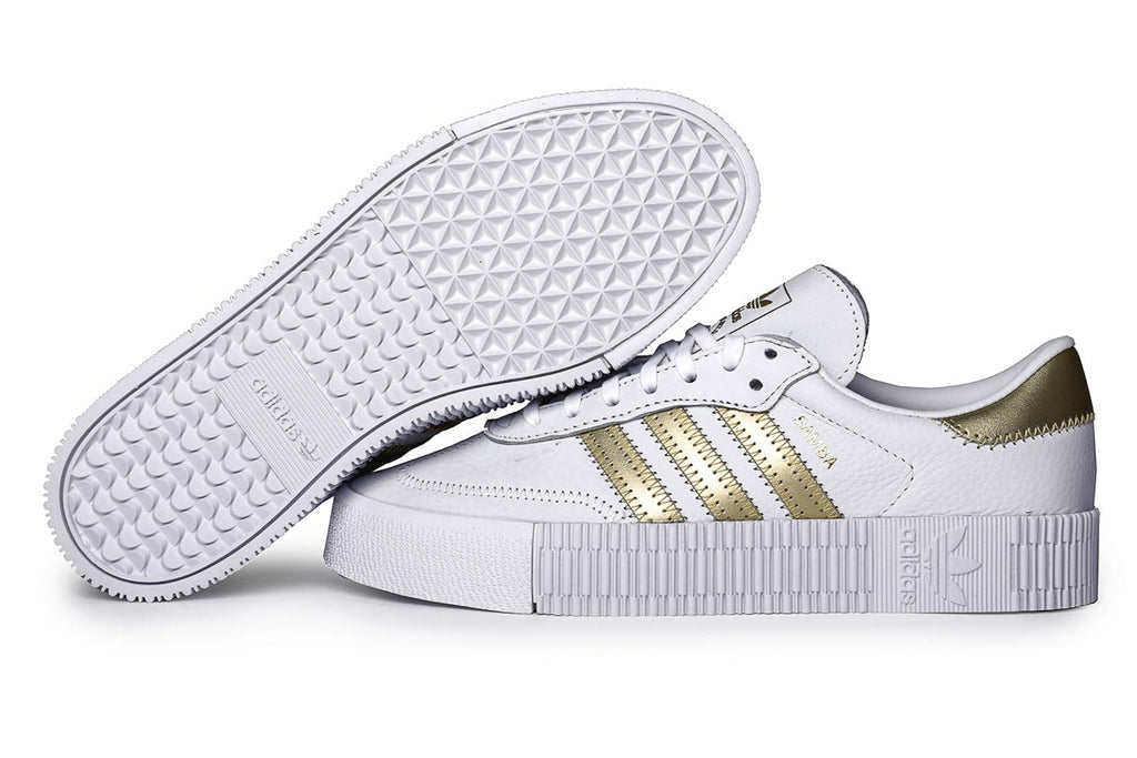 adidas Originals Sambarose Sneakers Core  Ftwr White / Gold. EE4681