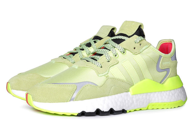 adidas Originals Nite Jogger Semi Frozen Yellow Sneakers EE5911