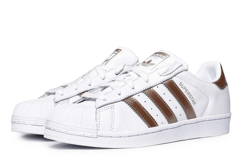 adidas Originals Superstar Sneakers White / Cyber Gold CG5463