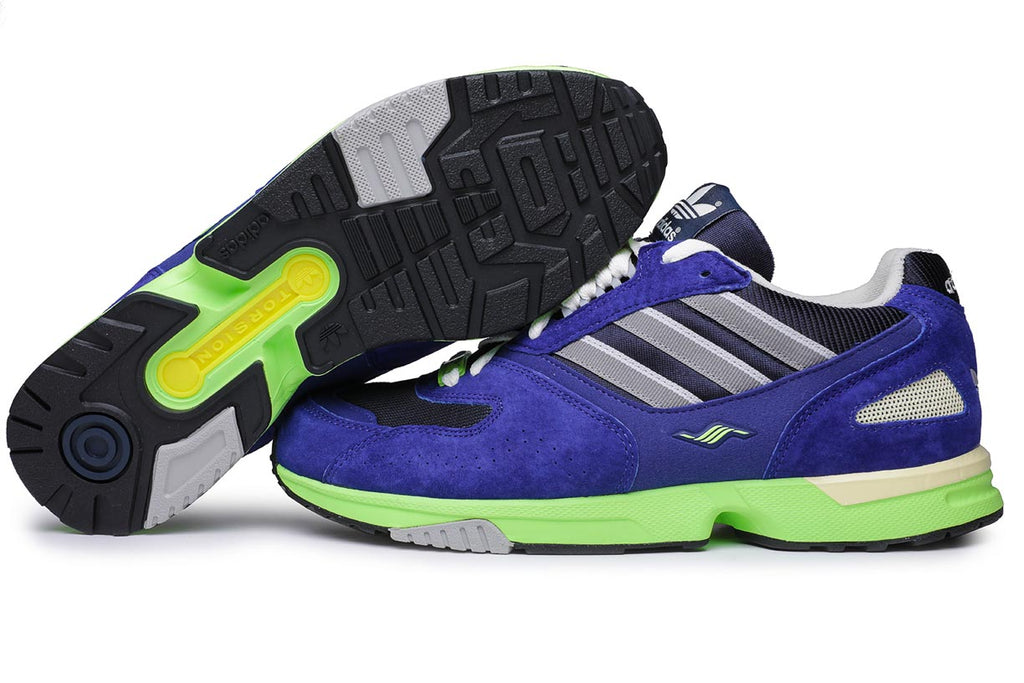 adidas Originals ZX 4000 Active Blue Sneakers