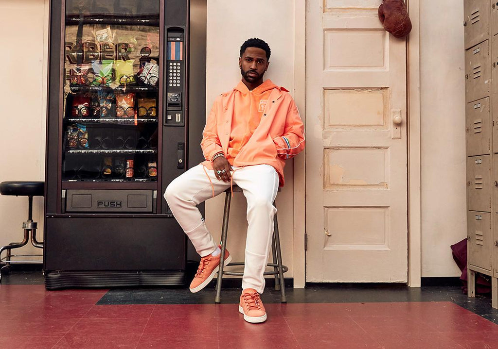 Puma PUMA x BIG SEAN Suede Sneakers Melon Melon