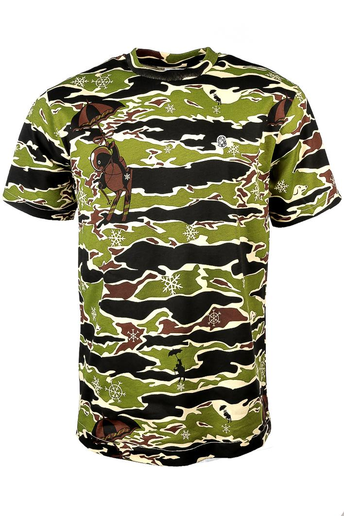 Billionaire Boys Club Camo Allover T-shirt