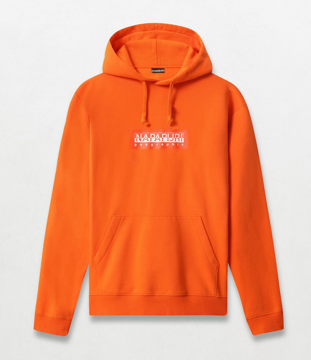 Napapijri Tribe Hoodie Box H Orange