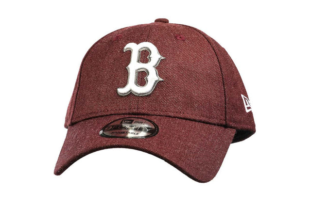 New Era 940 Boston Red Sox Seasonal Maroon Heather