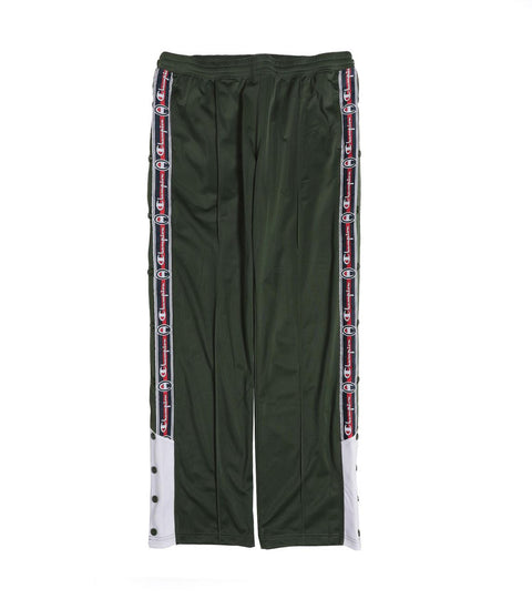 Champion Reverse Weave Long Snap Pants Green