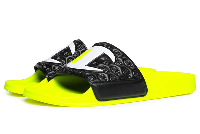 Champion Slides M-Evo Neon Yellow/Navy