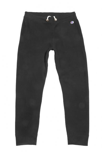 Champion Rib Cuff Pants Black