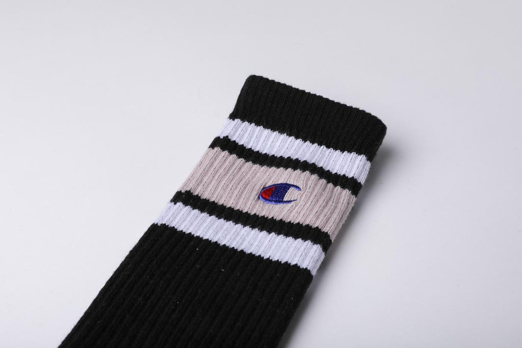 Champion Reverse Weave Color Block Socks Blue