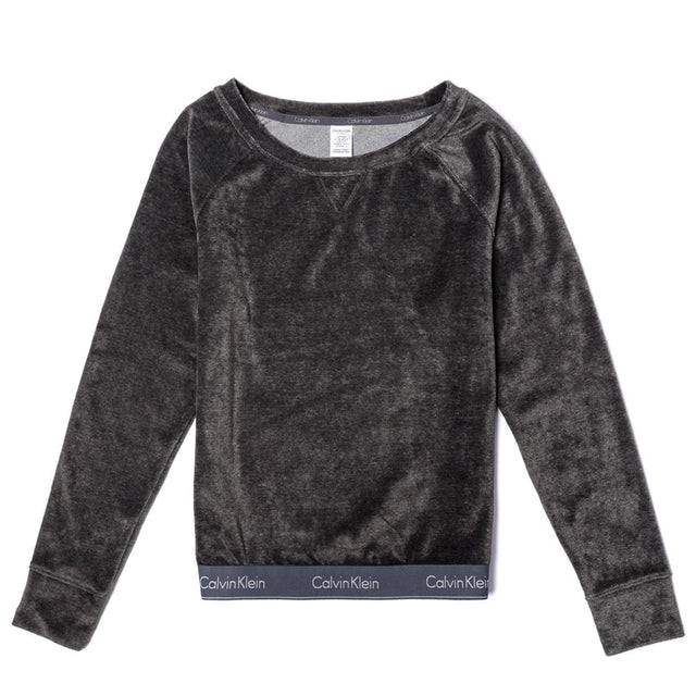 Calvin Klein Modern Cotton Velour Sweatshirt