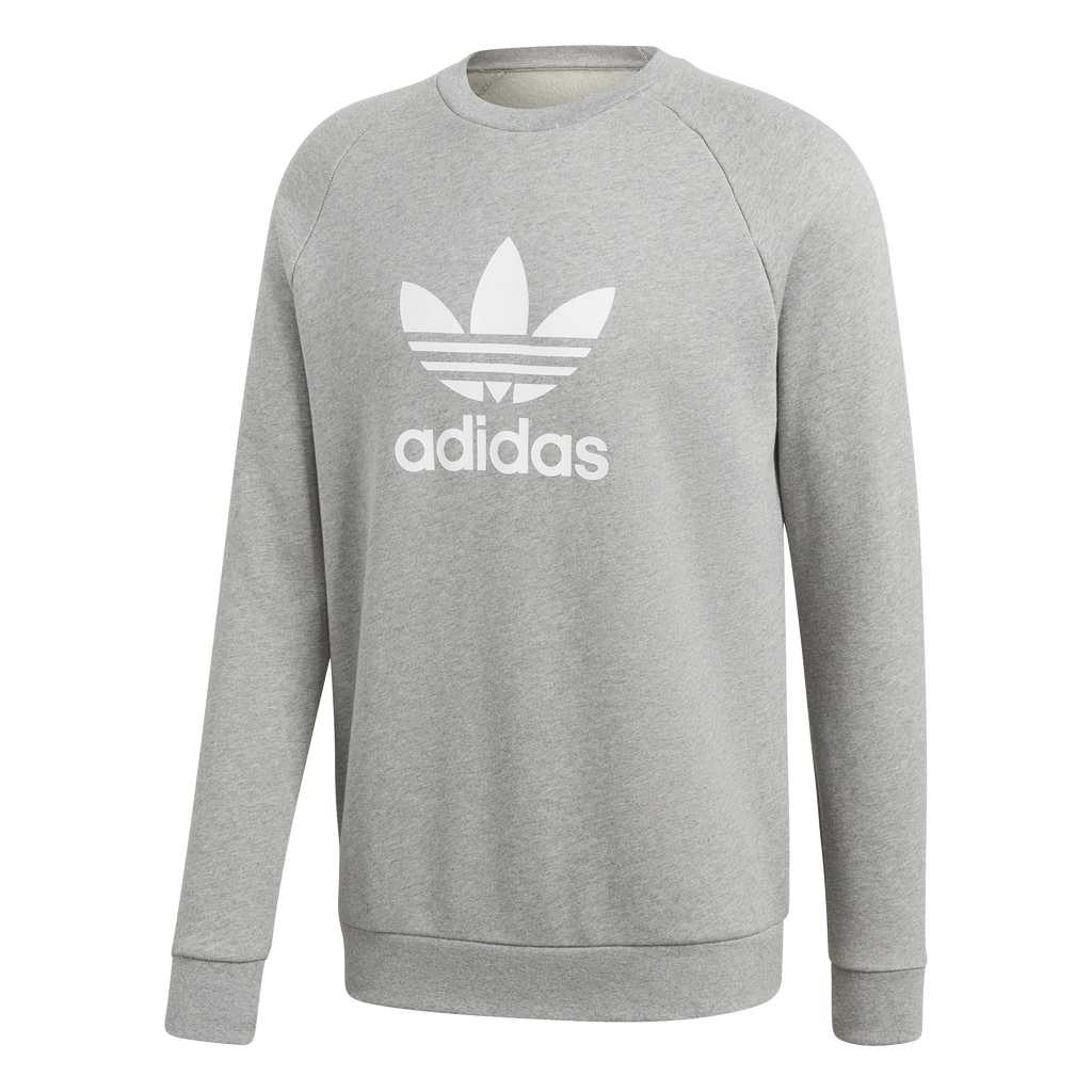 adidas Originals Trefoil Warm-Up Sweatshirt Grey