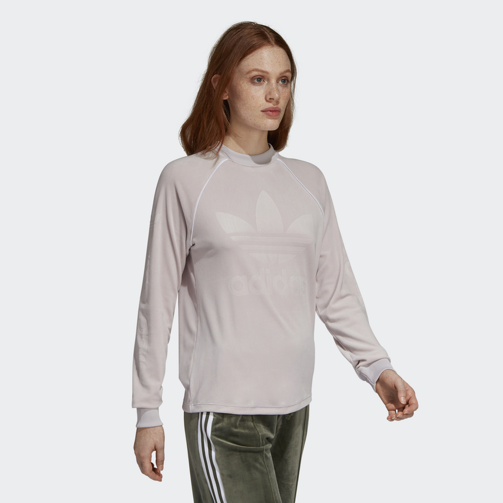 adidas Originals OG Velour Longsleeve Top