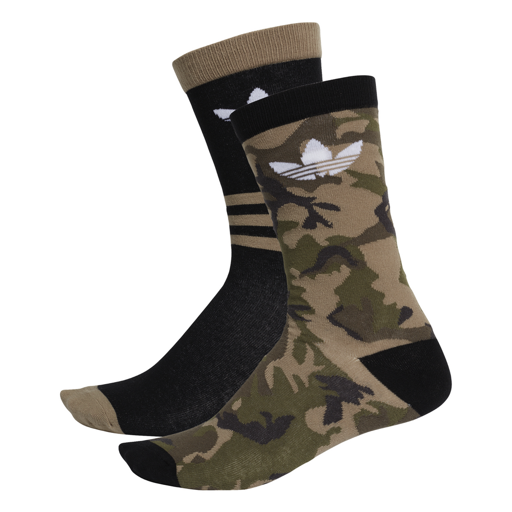 adidas Originals Camouflage Crew Socks - 2 Pack