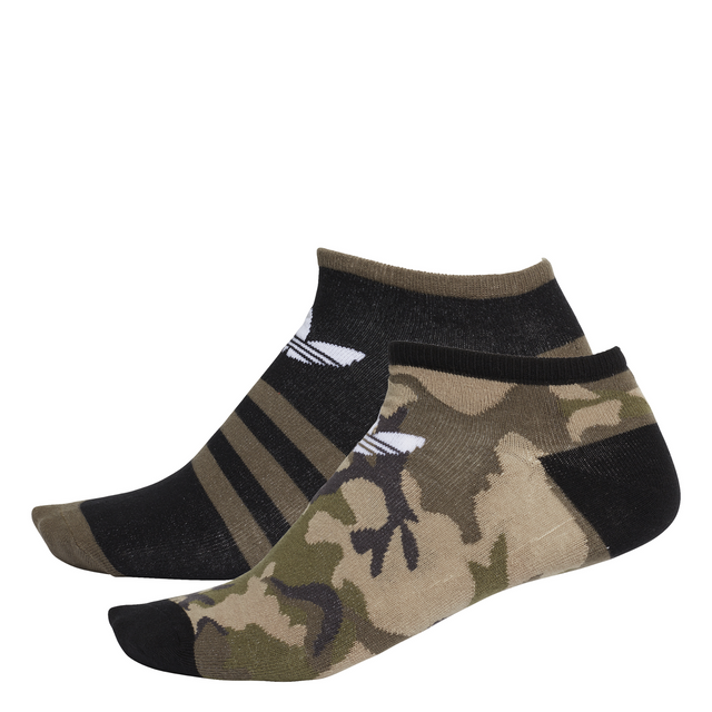 adidas Originals Camouflage Liner Socks - 2 Pack