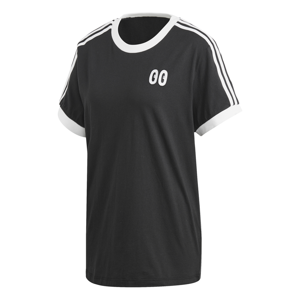 adidas Originals 3-stripes Women's Tee Black