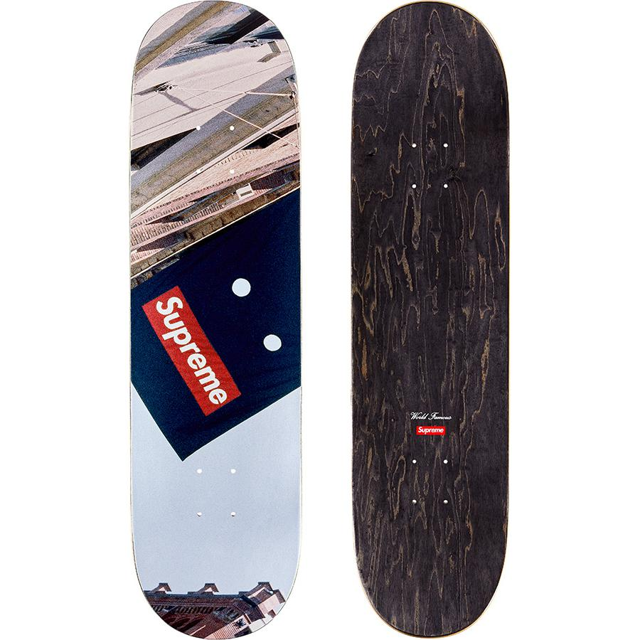 Supreme Banner Skateboard Deck Multi