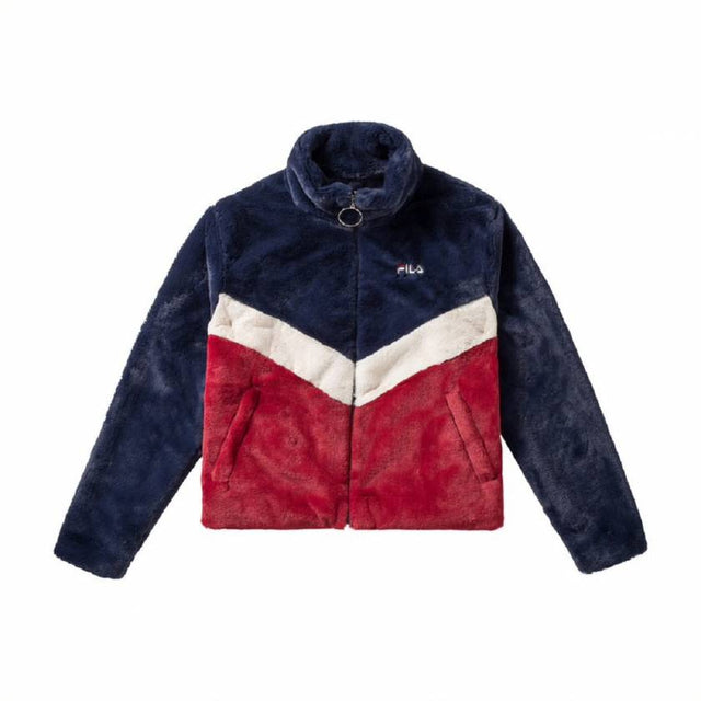 Fila W Chairmain Faux Fur Jacket