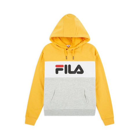 Fila Women' s Lori Hoodie Light Grey Citrus