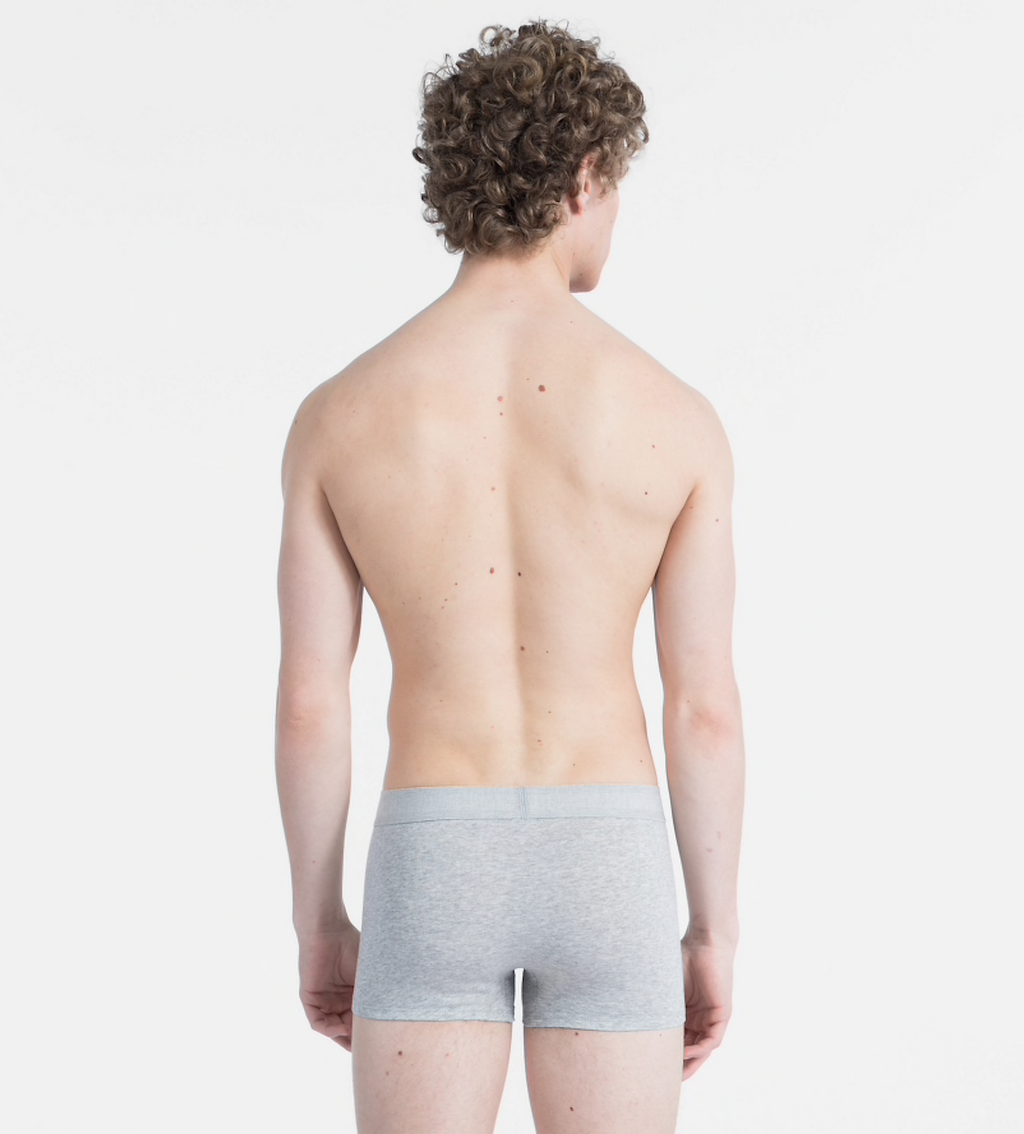 Calvin Klein Grey Monogram Trunks