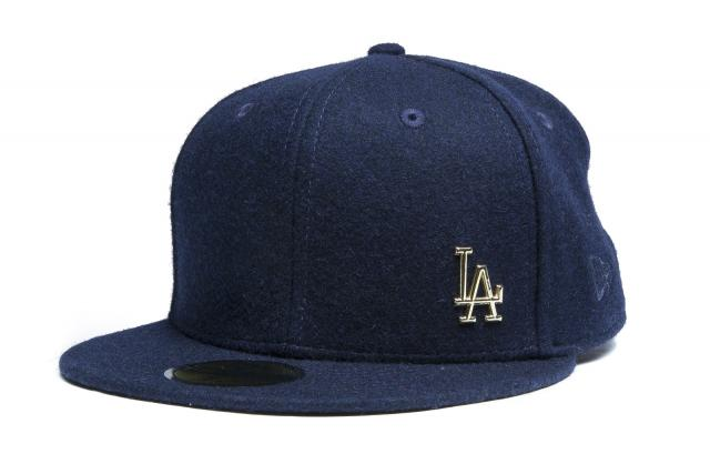 New Era Cap 5950 Melton Metal Los Angeles Dodgers Navy/Gold