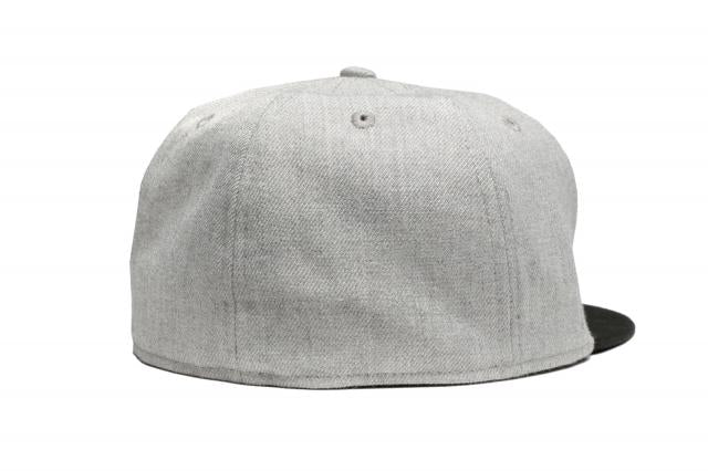New Era 5950 Heather Patched NEWERA Black