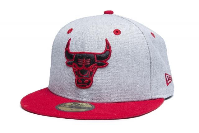 New Era Cap 5950 Heather Top Chicago Bulls