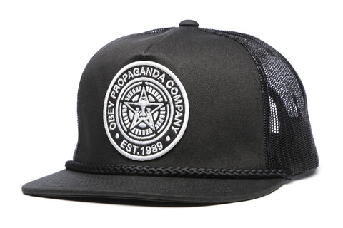 OBEY Giant Trucker  Black