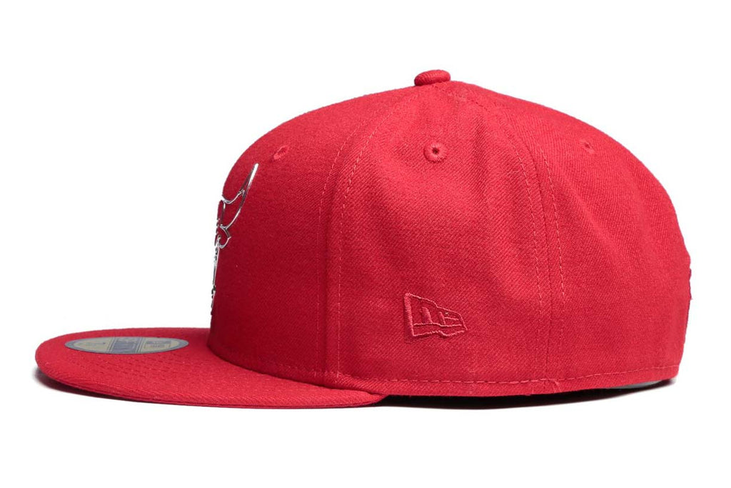 New Era Cap 5950 Ne Remix Liquid Logo Bulls