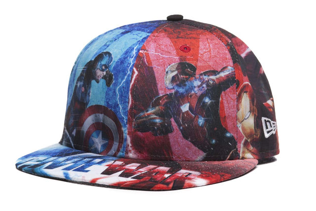New Era 5950 Allover Civil War Cap