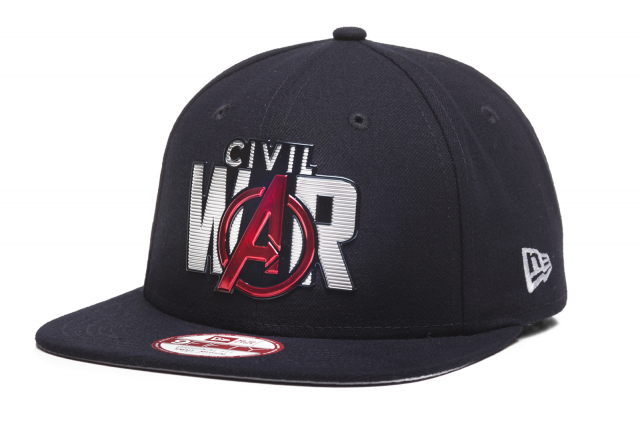 New Era 950 Liquid Chrome Civil War Snapback