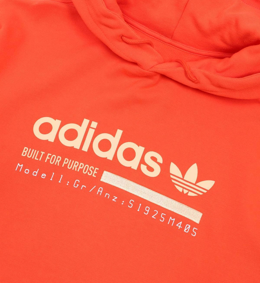 adidas Originals Kaval Graphic Hoodie Solar Red